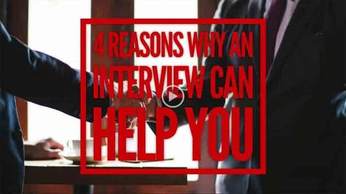 Top Reasons Why An Interview Can Help You
