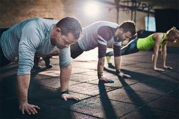 Why Men Who Can Do 40 Pushups